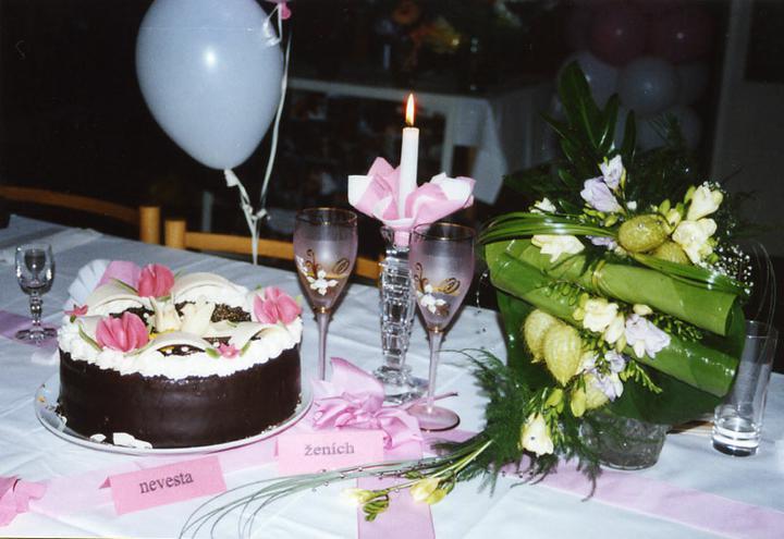 Butterfly, s.r.o. - Výzdoba svadobného stola
