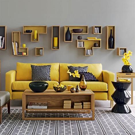 Dream house - vyrazna kombinacia farieb, ale nadherne zladene...