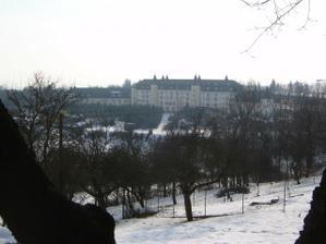 Hotel S.E.N. v zimě..