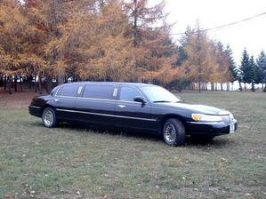 Tohle autíčko mě poveze k oltáři..
