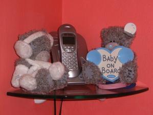 Medvídky máme všude... :-)