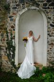 Svatební šaty z přírodního hedvábí, 38