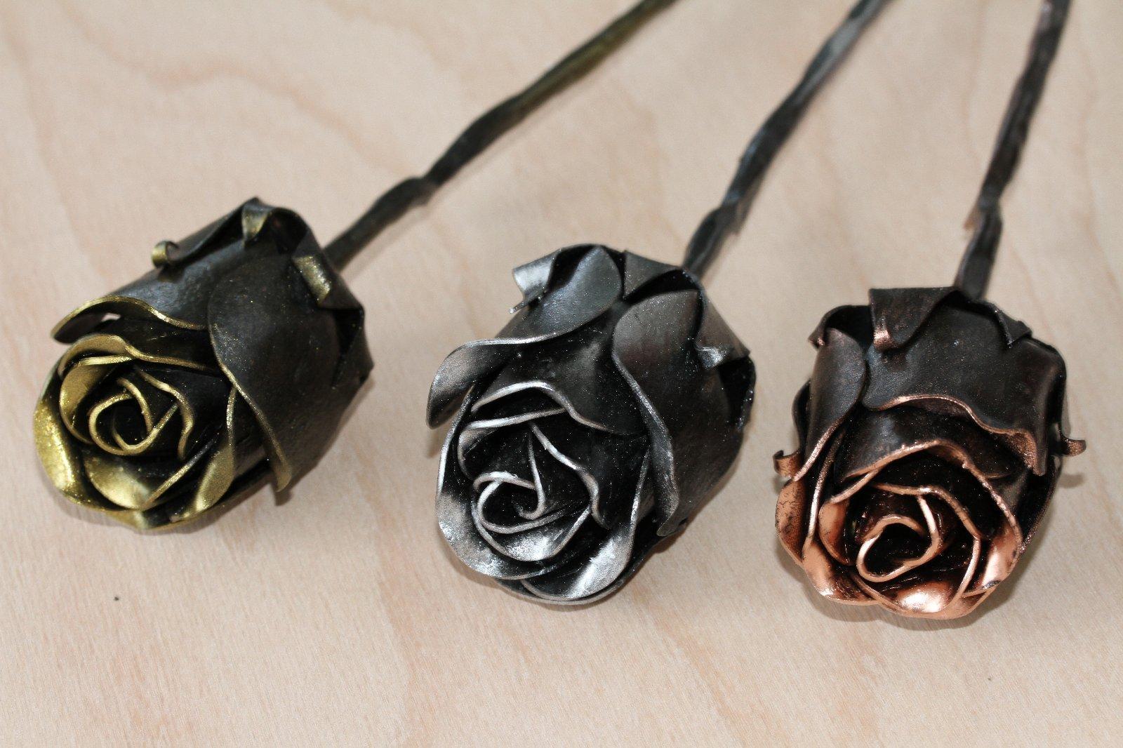 kovaná ruža - Obrázok č. 3