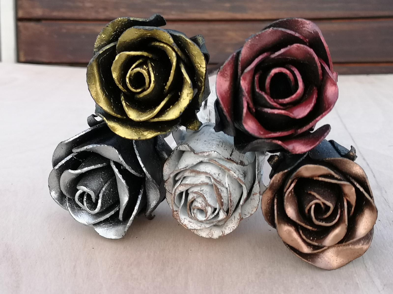 kovaná ruža - Obrázok č. 1