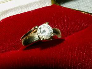 Môj snubný prstienok :)