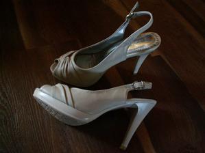 Moje svadobné topánočky...
