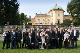 já a všichni chlapi na svatbě :-)