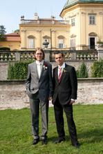 Martin s bratrem