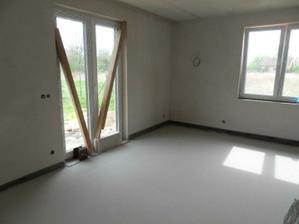 a konečně vylité podlahy