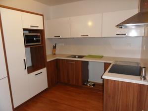 Ještě chybí dokoupit spotřebiče a kuchyňka bude kompletní... :-)