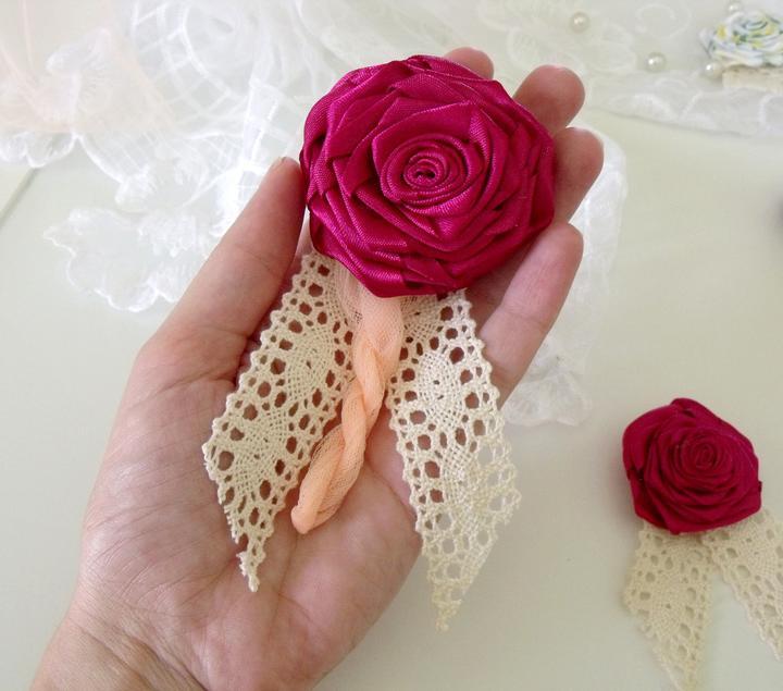 takéto krásne pierka som robila na moju svadbu :) ak sa niekomu zapáčia môžem poskytnúť :) - Obrázok č. 2