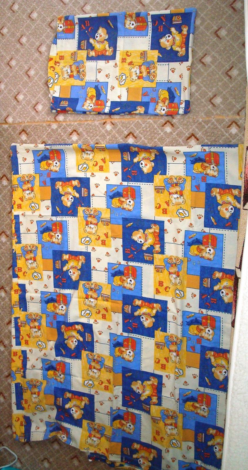 Modré posteľné prádlo - Obrázok č. 1