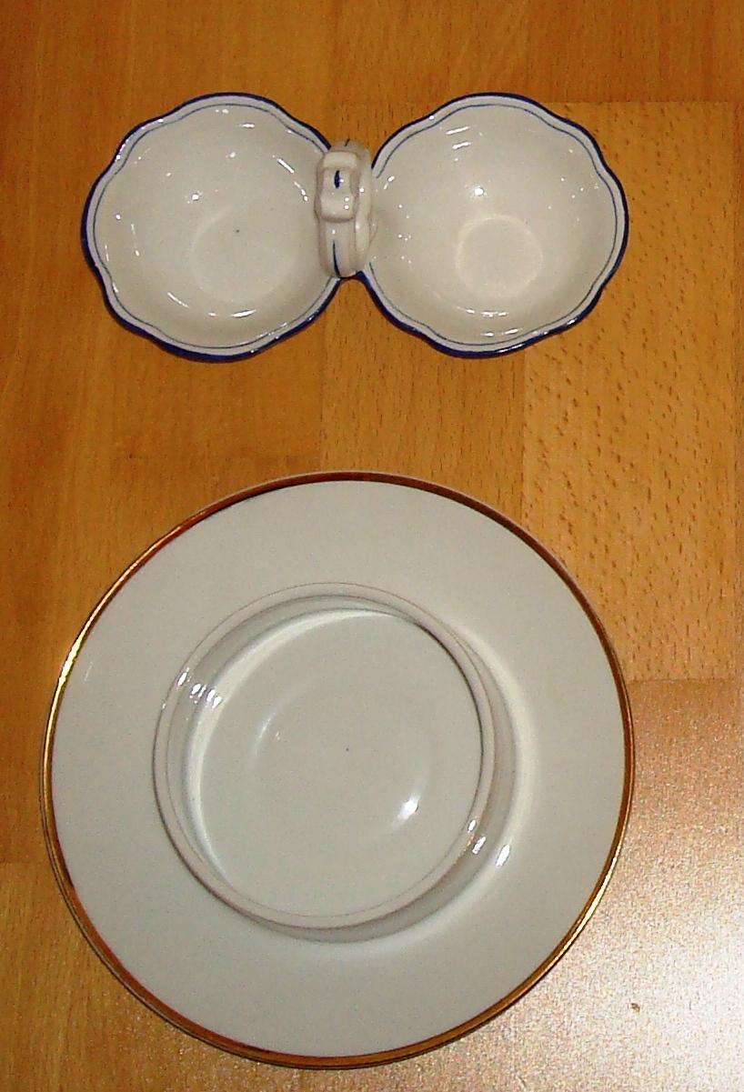 Porcelánový riad (2 kusy) - Obrázok č. 1