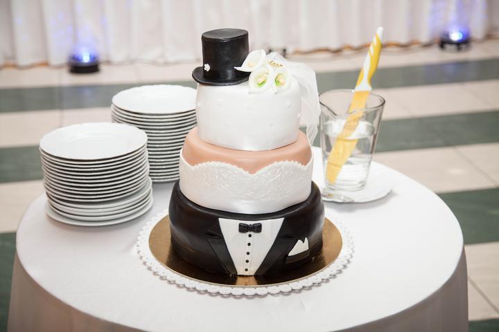 Naše prípravy... - takáto bude naša torta