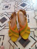 Značkové sandálky aj vymena, 38