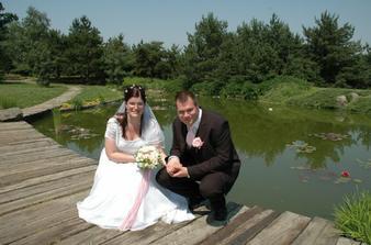 My a náš svatební den_červen 2006.