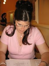 Louvre - tam jsme se Štěpánkou, která mne na zkoušku účesu doprovodila, velmi chutně poobědvaly.