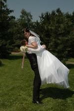Manžel mne nečekaně vyzvedl až k nebi:-).