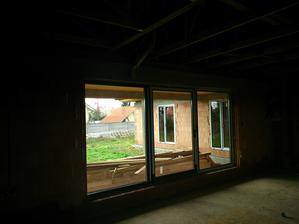 výhľad z obývačky