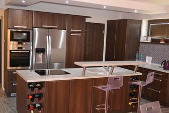 Konečne dokončená kuchyňa :D môžeme plnohodnotne variť