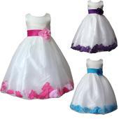 Detské spoločenské šaty, 110