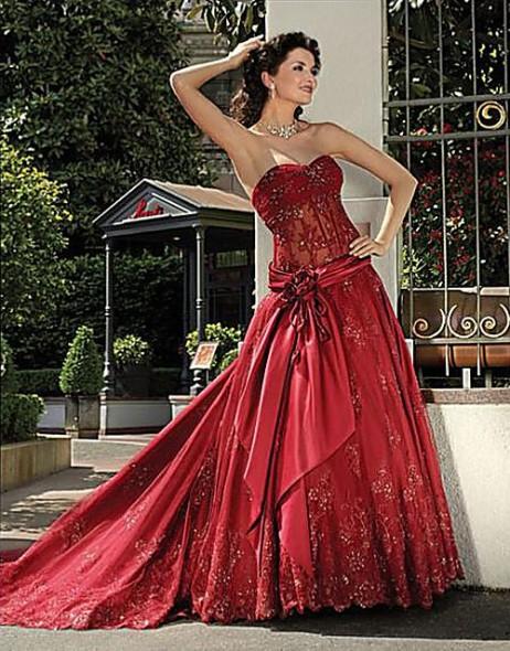 Krááásne červeno-biele šaty - Obrázok č. 74