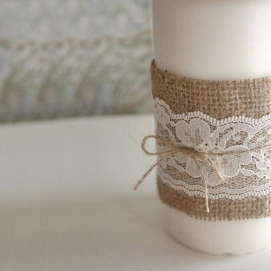 Lace Wedding Decorations & Details - Obrázok č. 14