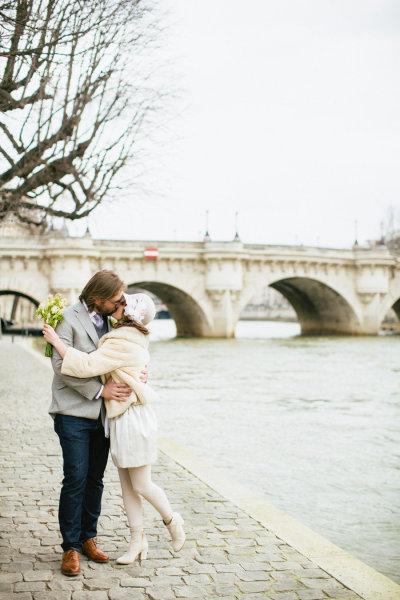 ZIMA - V Paríži v zime...
