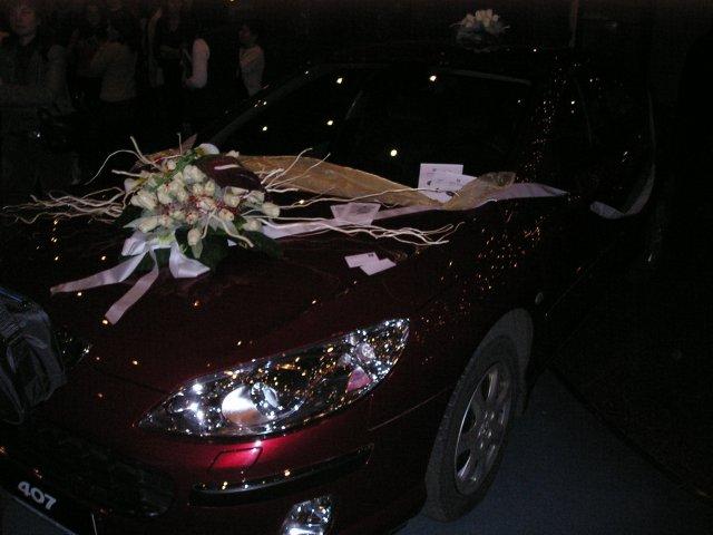 Výstava SVADBA 2005 Košice, HOTEL SLOVAN - svadobné auto