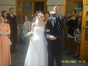konečně novomanželé