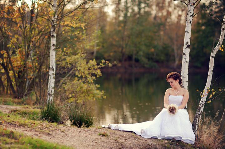 """Podzimní svatba - Nevěsta """"zlobr"""""""