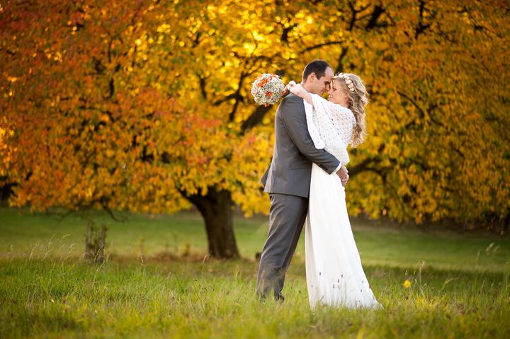 Podzimní svatba - www.foture.cz