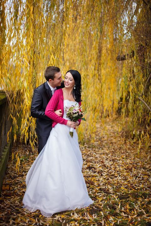 """Podzimní svatba - Nevěsta """"romcovalucajda"""""""