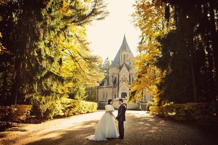 """Podzimní svatba - Nevěsta """"alkapinka"""""""