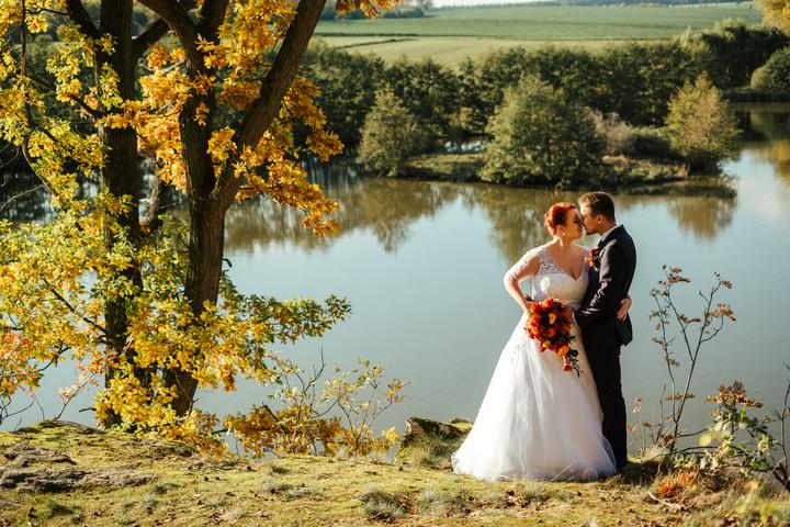 """Podzimní svatba - Nevěsta """"mapiki"""""""