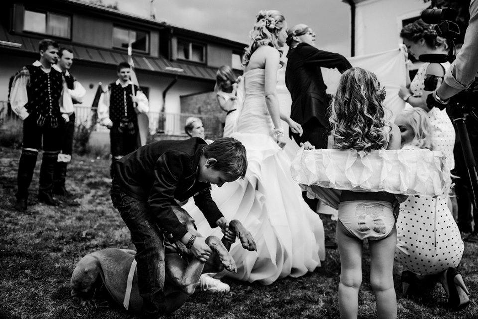 Družičky a družbové - WEDDING PHOTOGRAPHY/ BY KAMIL AND SIMONA