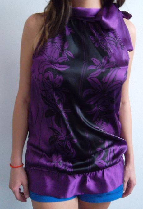 Top fialový  - Obrázek č. 1