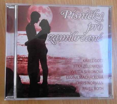 CD - Písničky pro zamilované - Obrázek č. 1