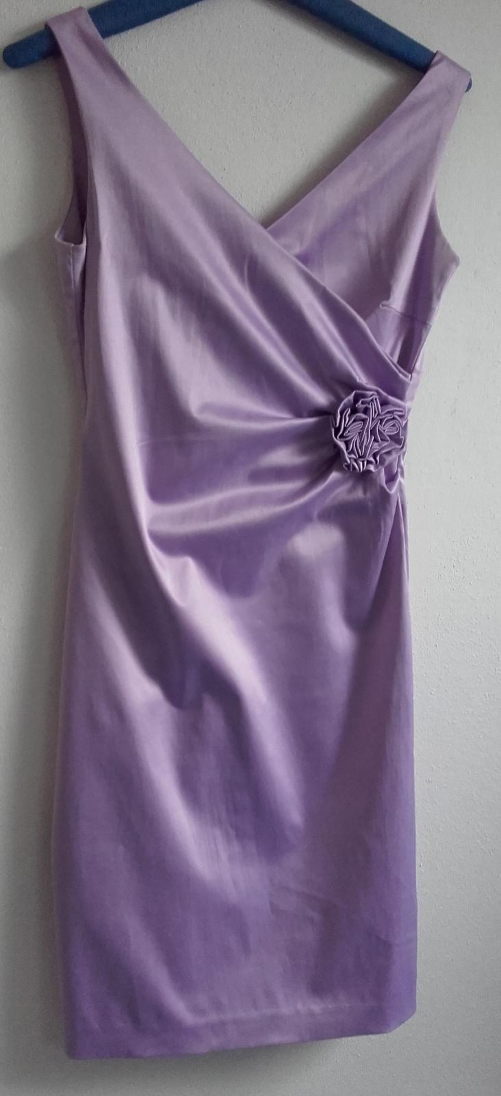 Butikové šaty lila  - Obrázek č. 4