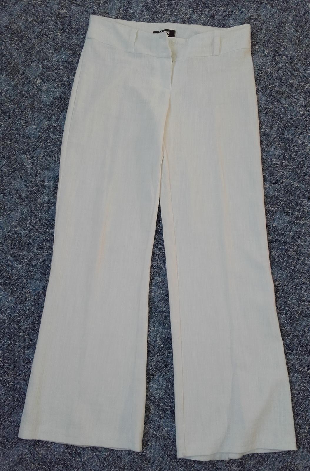 Kalhoty bílé  - Obrázek č. 1