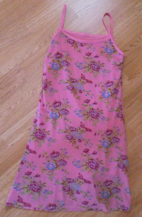 Letní šaty růžové - Obrázek č. 1