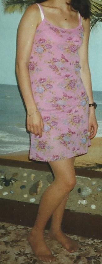 Letní šaty růžové - Obrázek č. 3