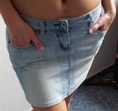 Sukně džínová krátká , 36