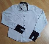 Pánská elegantní slim košile, M