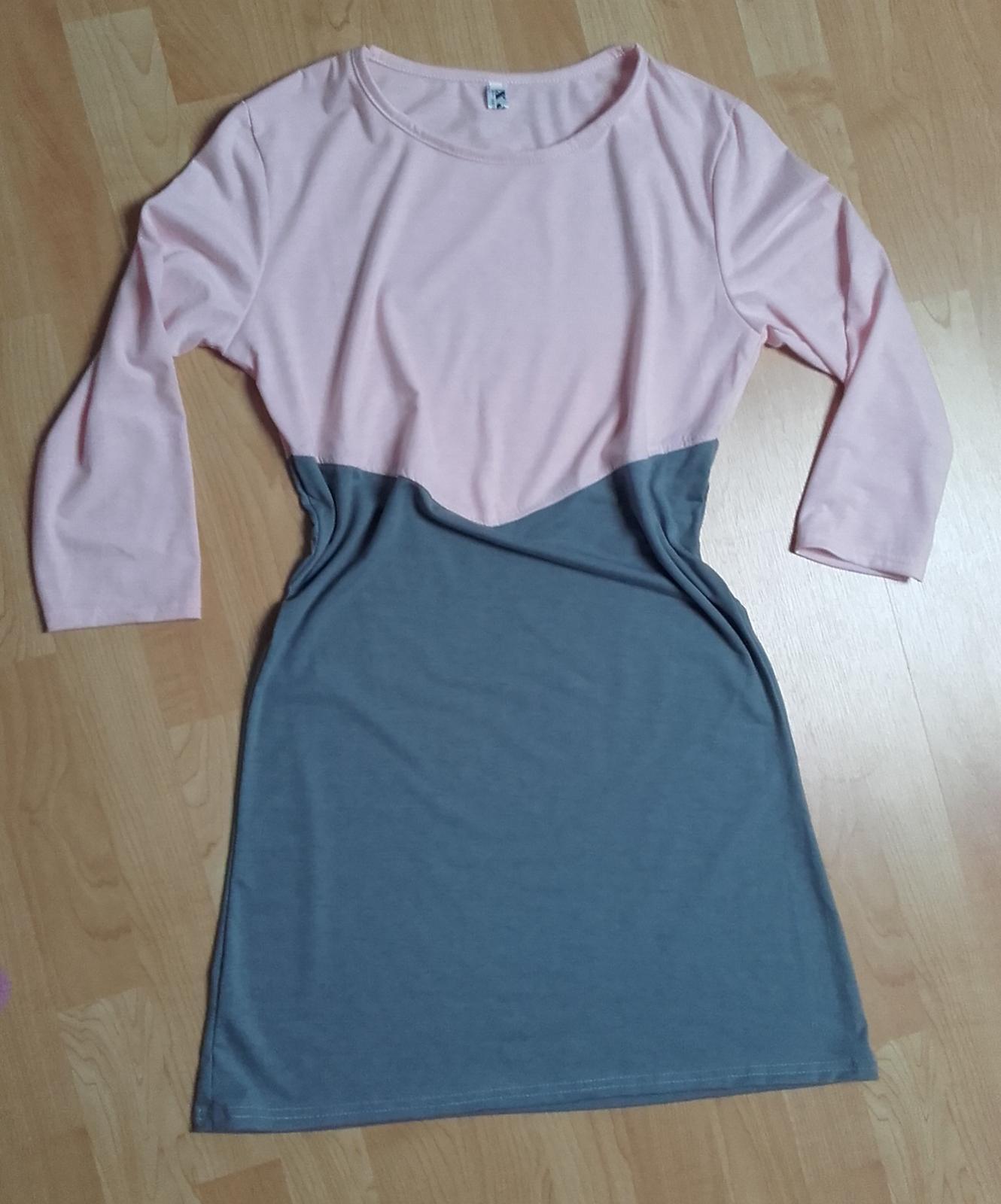 Šaty s volným střihem  - Obrázek č. 1