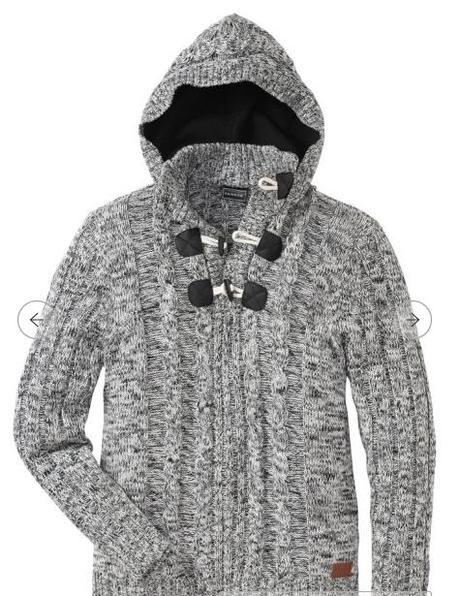 Pánský svetr Slim Fit s kapucí  - Obrázek č. 4