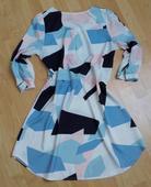 Lehké šaty s knoflíčky, M