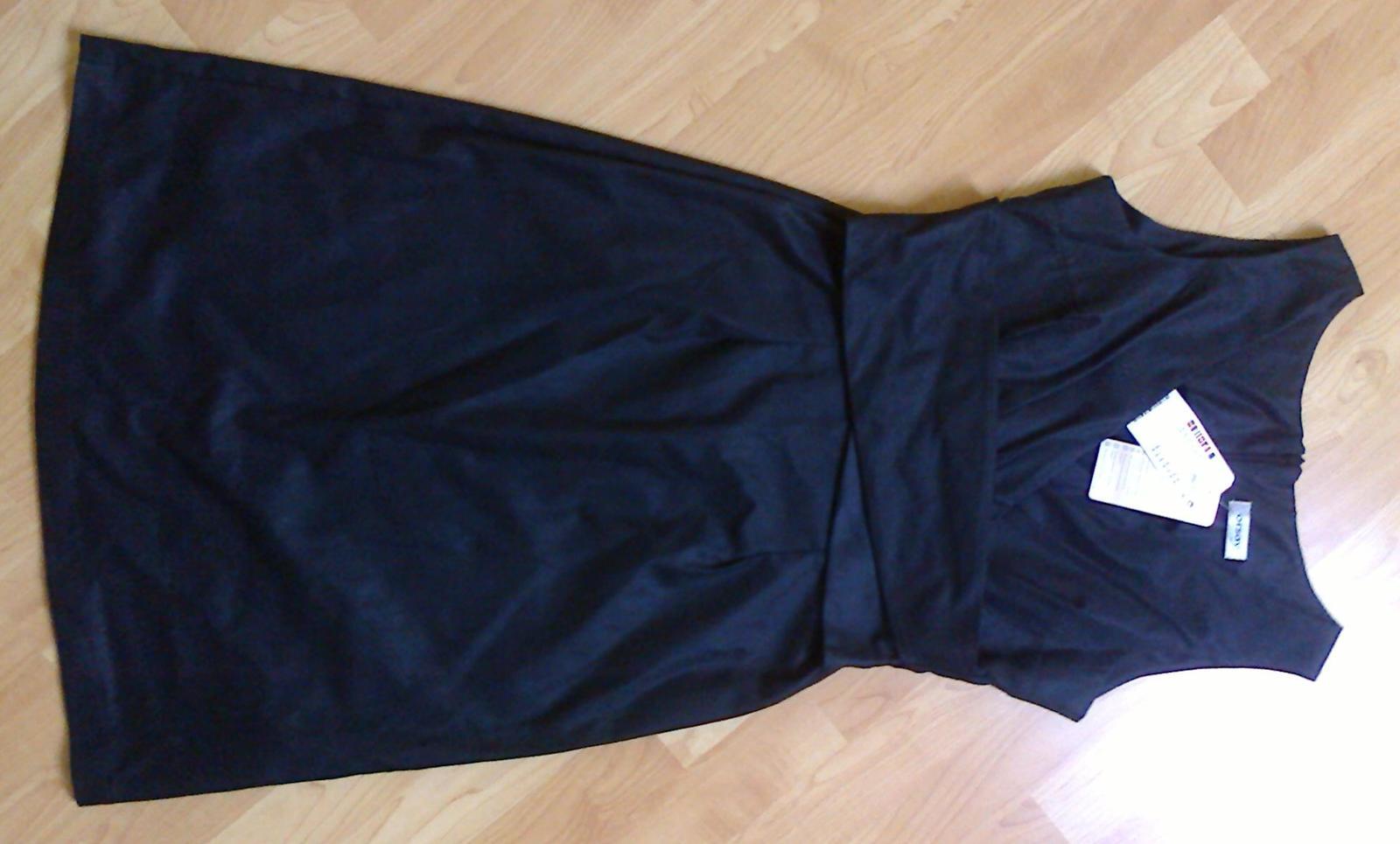 Šaty Orsay černé - Obrázek č. 2