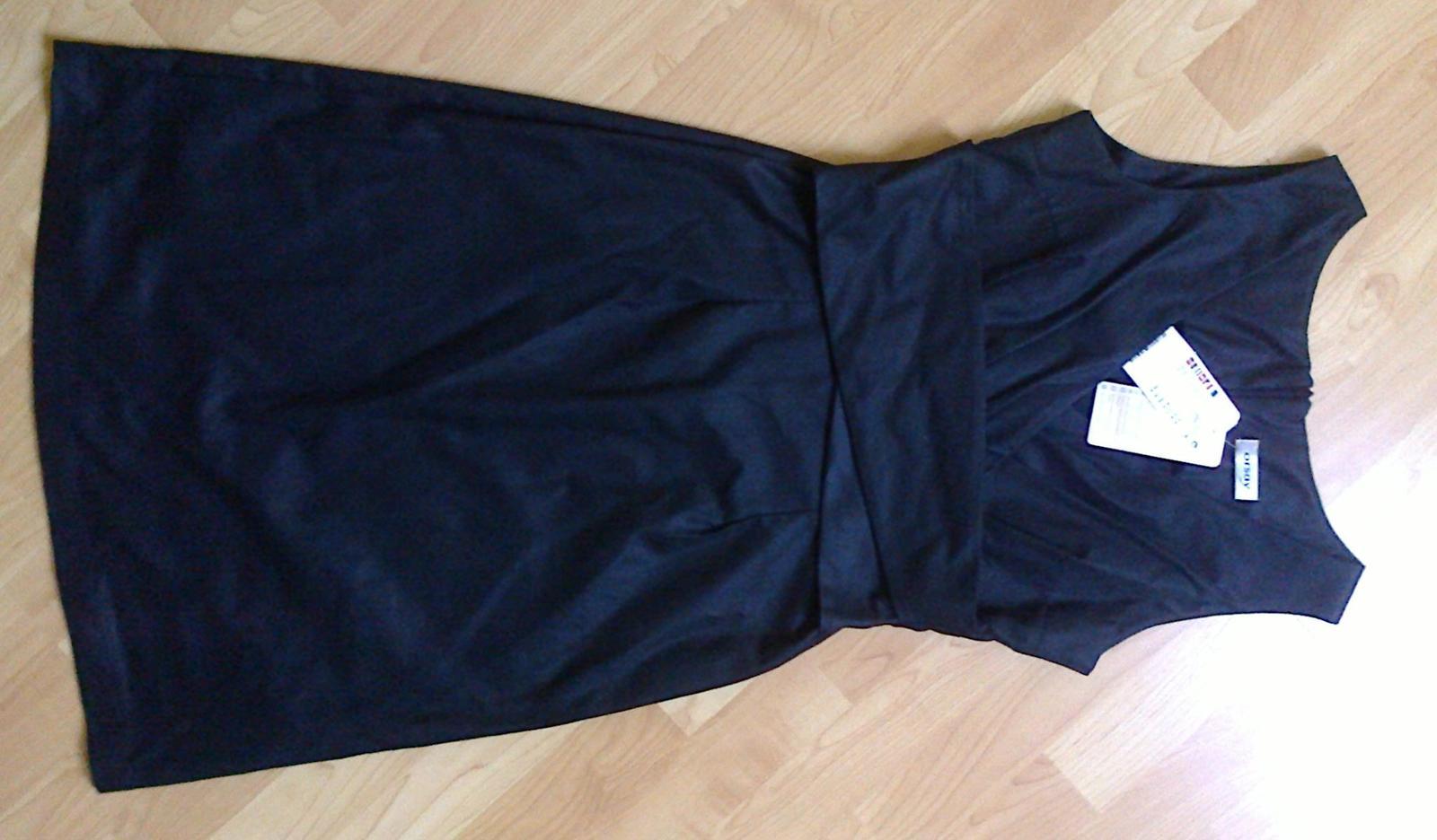 Šaty Orsay černé - Obrázek č. 3