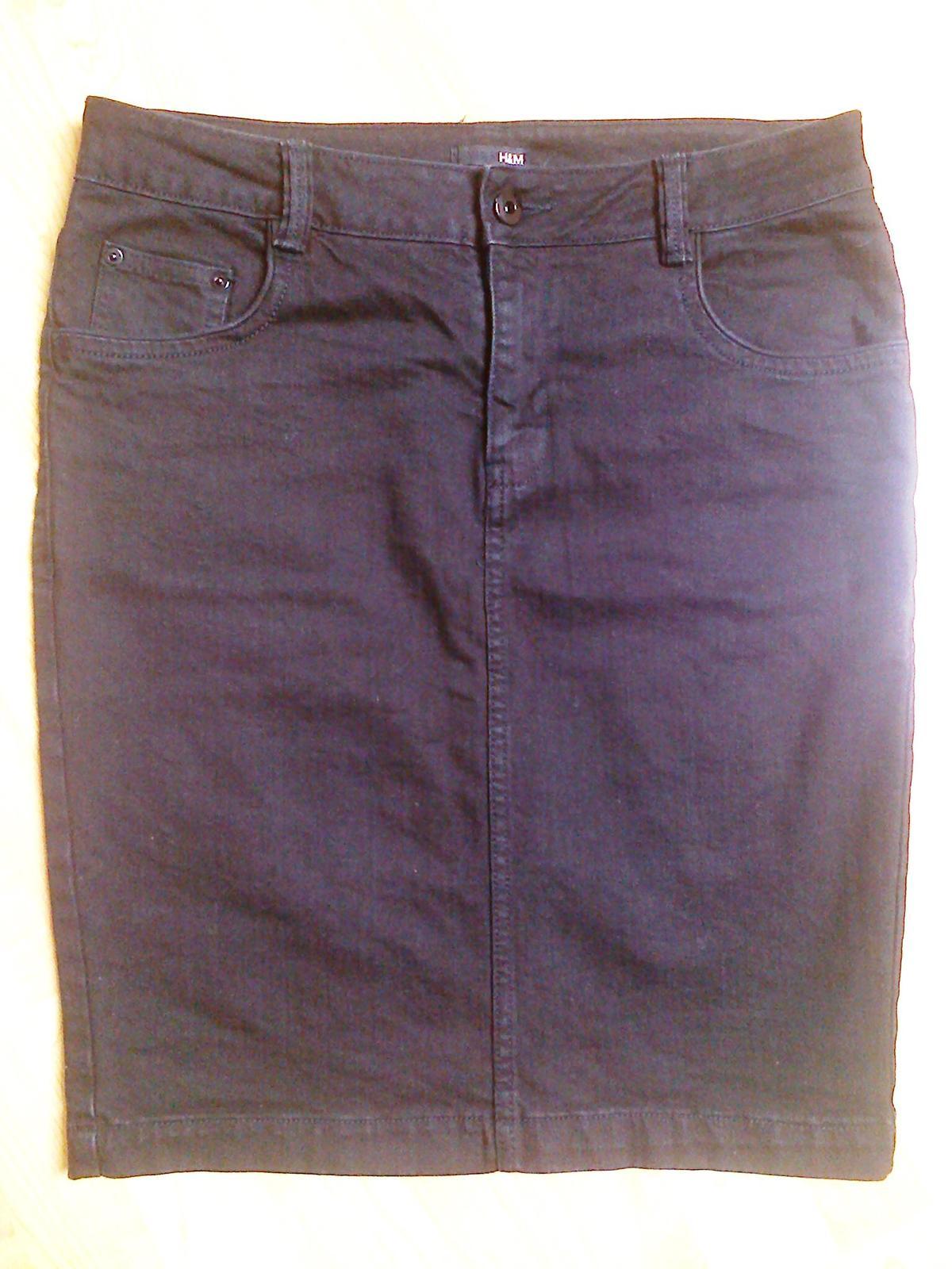 Džínová sukně H & M - Obrázek č. 1